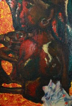 Still, Oil Paint