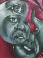 Self-Study 2, Oil Paint